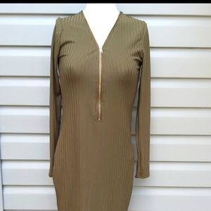 Another Story Army Green Dress. NWT